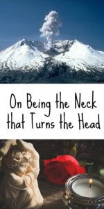 the neck that turns the head