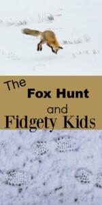 fidgety kids