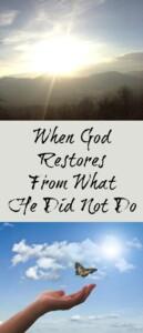 Pinterest God Restores