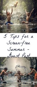 Pinterest Screen Free Summer