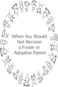 foster or adoptive
