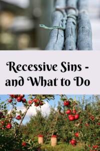 Pinterest Recessive Sins