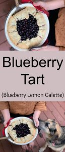 pinterest blueberry tart