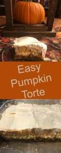 pinterest easy pumpkin torte