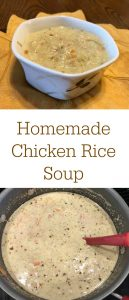 pinterest chicken rice soup