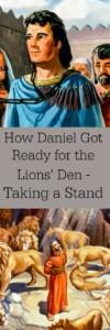 Pinterest Daniel Taking a Stand