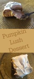 Pinterest: Pumpkin Lush Dessert