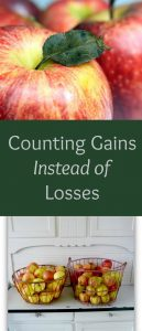 Pinterest counting gains instead of losses