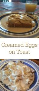 pinterest creamed eggs on toast