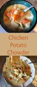 pinterest chicken potato chowder
