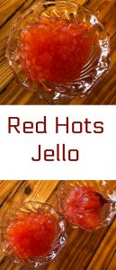 pinterest red hots jello