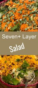 seven layer salad pinterest