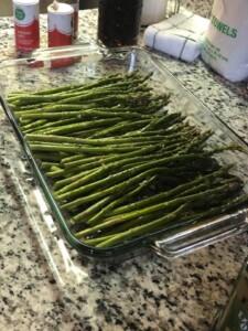 baked asparagus