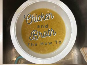 Pinterest Chicken and Broth