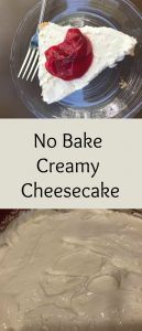 pinterest creamy cheesecake