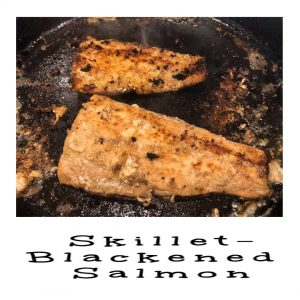 pinterest skillet blackened salmon