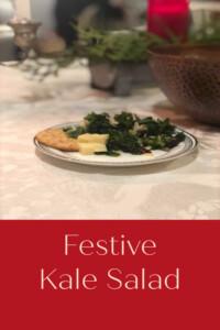 pinterest festive kale salad