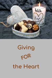Pinterest giving for the heart