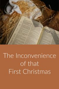 Pinterest Inconvenience of that First Christmas