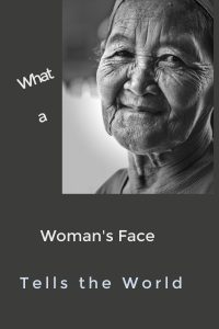 pinterest woman's face
