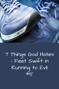 running to evil